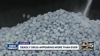 Valley crime lab seeing an escalation of fentanyl in street drugs