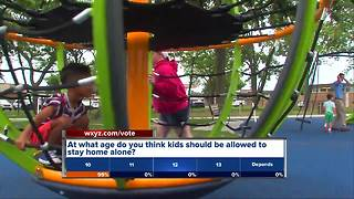 VOTE: How old should kids be to stay home alone?