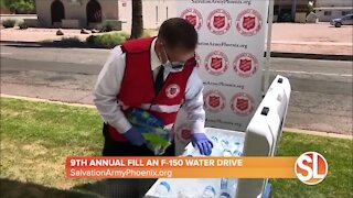 9th Annual Fill an F-150 Water Drive for Salvation Army