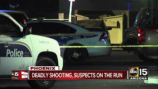 Man shot and killed in West Phoenix Saturday night - Video