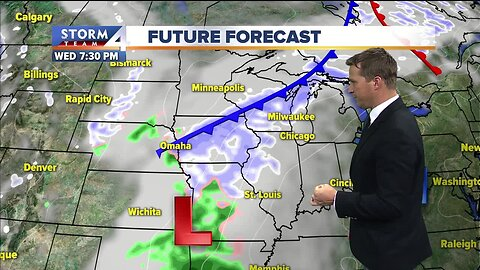 Mainly clear skies, breezy Tuesday afternoon