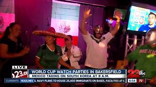 Local restaurants open for Mexico World Cup game - Video
