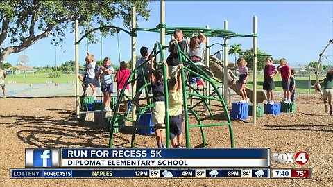 Runners gear up for 'Run for Recess' 5k