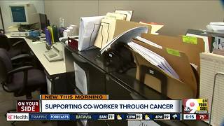 West Chester employees support boss through cancer treatments - Video
