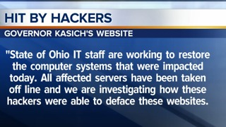 Ohio Department of Rehabilitation and Correction's website, along with other government sites hacked - Video
