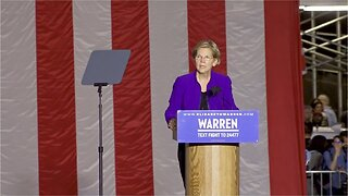 Warren falling in New Hampshire