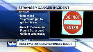 Stranger danger alert involving 15-year-old girl - Video
