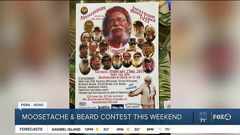 "Englewood Moose Lodge ""Moosetache and Beard Contest"""