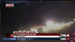 Vehicle fire on I-75