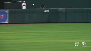 Orioles play 'weird' first intrasquad game