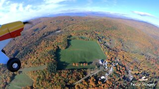 Backcountry Flying and New England Fall Foliage