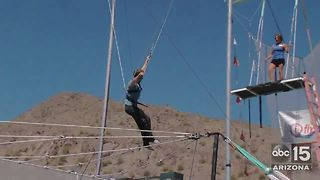 Trapeze lessons at The Phoenician in Scottsdale - ABC15 Sports - Video