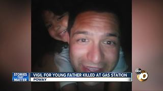 Young father identified as victim of fatal stabbing in Poway - Video