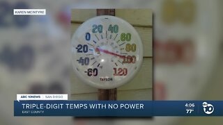 Triple-digit temps with no power