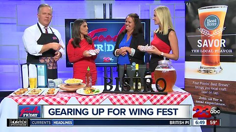 Foodie Friday: The Bistro will be at Bakersfield Wing Fest