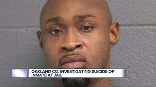 Oakland County investigating suicide of inmate at jail - Video