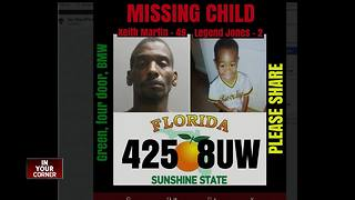 Missing Child Alert issued for 2-year-old Jacksonville boy