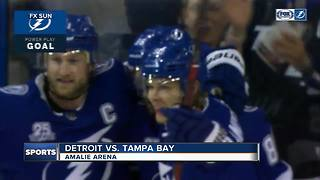 Tampa Bay Lightning beat Detroit Red Wings for 11th straight time, 4-1 - Video