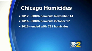 Chicago's Murder Rate for 2017 Just Passed 600 – And That's an  Improvement Over Last Year - Video
