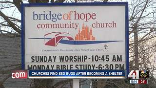Bed bugs causing problems for Bridge of Hope cold weather shelter - Video