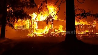 Camp Fire ravages Paradise, California