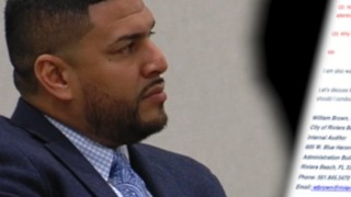 Riviera Beach City Manager Jonathan Evans asked for investigation before he was fired - Video