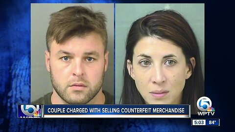 Pair arrested after discovery of $2M in counterfeit goods, Palm Beach County Sheriff's Office says