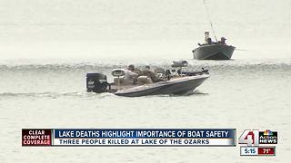 Missouri Highway Patrol urging boat safety - Video