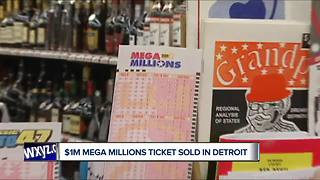 $1M winning Mega Millions ticket sold in DetroitTuesday's Mega Millions jackpot was the fifth-largest in the history of the lottery, worth $522 million.