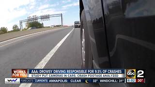 Drowsy driving responsible for almost 10% of crashes, study shows