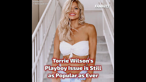 Torrie Wilson's Playboy Issue is Still as Popular as Ever