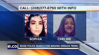 Missing Oregon teens - Video
