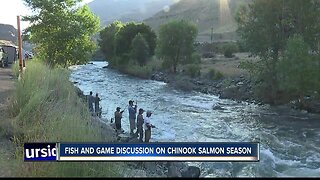 Idaho Fish and Game holding discussion on Chinook salmon season