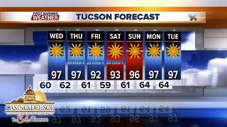 Chief Meteorologist Erin Christiansen's KGUN 9 Forecast Tuesday, May 15, 2018 - Video