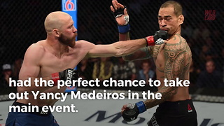 UFC Fighter Exemplifies Sportsmanship After Opponent Trips
