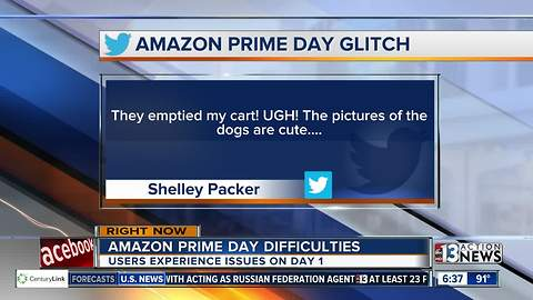 Social media reacts to Amazon Prime Day difficulties