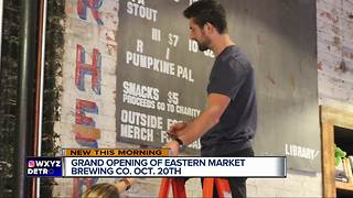 Grand opening of Eastern Market Brewing Co. on Oct. 20