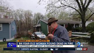 84-year-old woman dies from fire injuries
