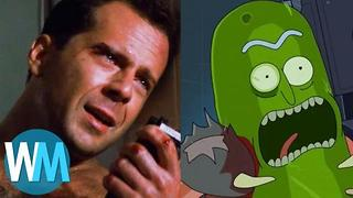 Top 10 Rick and Morty Movie Parodies - Video