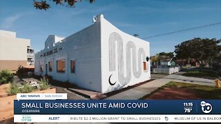 Small businesses unite amid COVID