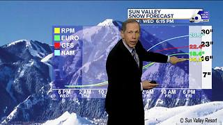 Windy & Milder with Heavy Mountain Snow - Video