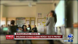 Teacher walkout over school funding forces Englewood Schools to cancel all classes on Monday