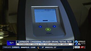Lawmakers considering drugged driving testing tech