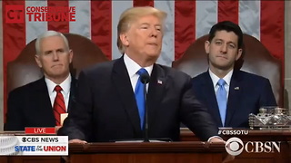 Trump SOTU ISIS Quote - Video