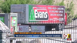 Evans Landscaping owner Doug Evans faces a jury trial Tuesday on federal wire fraud charges