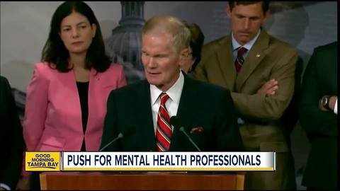 Bill Nelson pushes for mental health professionals