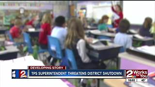 TPS threatens shut down