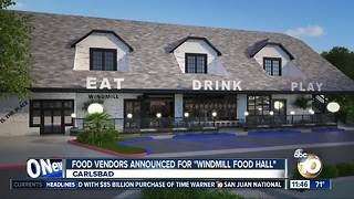 Food vendors announced for 'Windmill Food Hall'