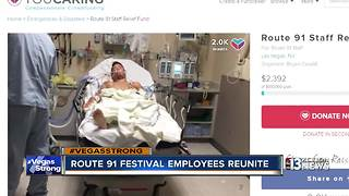 Festival staff start fundraiser for medical bills, lost wages - Video