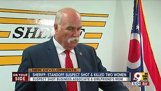 Sheriff: Standoff suspect shot and killed two women - Video